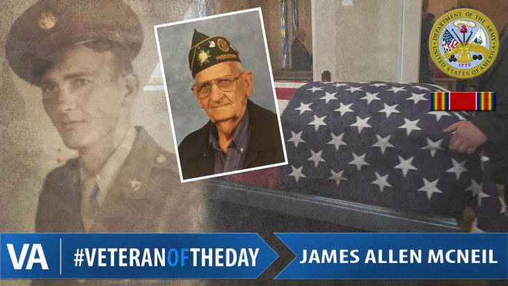 James Allen McNeil - Veteran of the Day