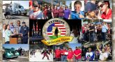 2018 Welcome Home event for Veterans photo collage.