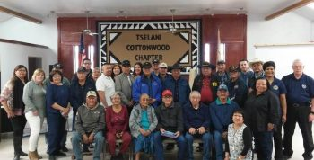 IMAGE: Tribal outreach group photo.