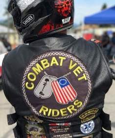 IMAGE: Combat rider wear their colors