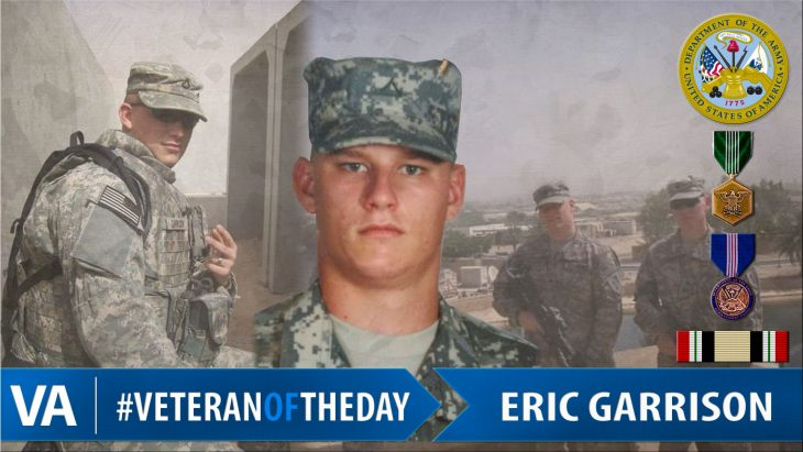 Eric Garrison - Veteran of the Day