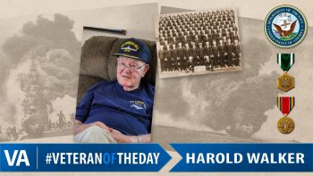 Harold Walker - Veteran of the Day