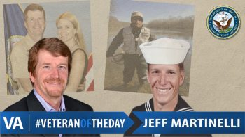 Jeff Martinelli - Veteran of the Day