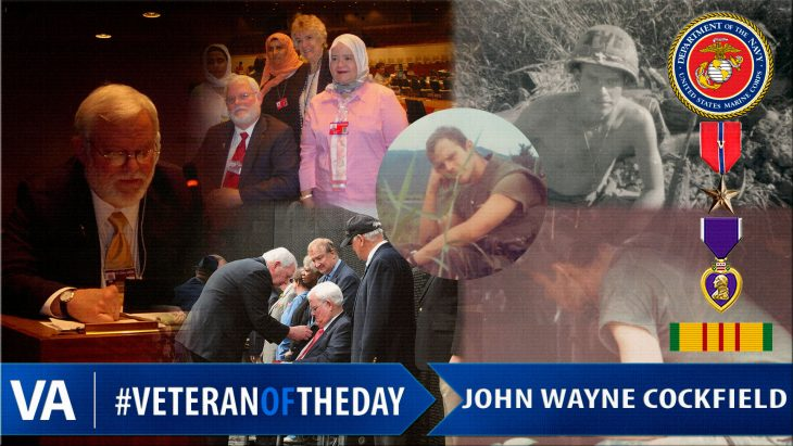 John Wayne Cockfield - Veteran of the Day