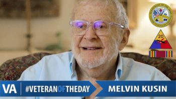 Melvin Kusin - Veteran of the Day
