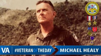 Michael Healy - Veteran of the Day