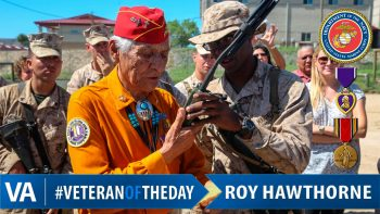 Roy Hawthorne - Veteran of the Day
