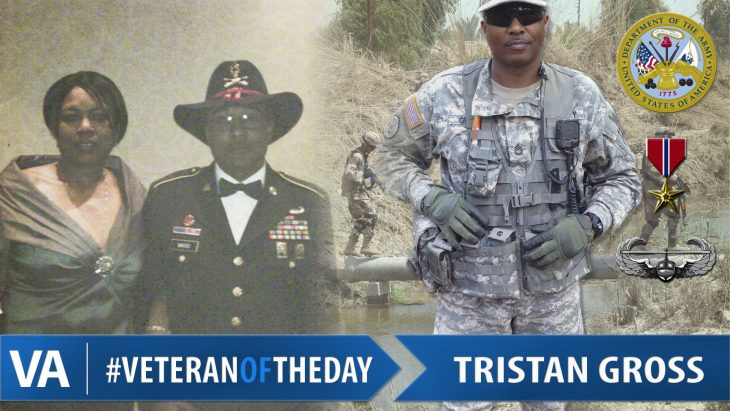 Tristan Gross - Veteran of the Day