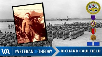 Richard Caulfield - Veteran of the Day
