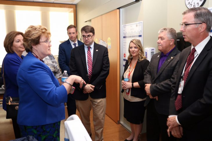 Robert Wilkie visiting new VA hospital in Colorado
