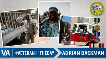Adrian Backman - Veteran of the Day