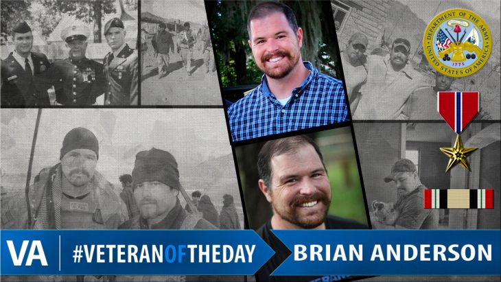 Brian Anderson - Veteran of the Day