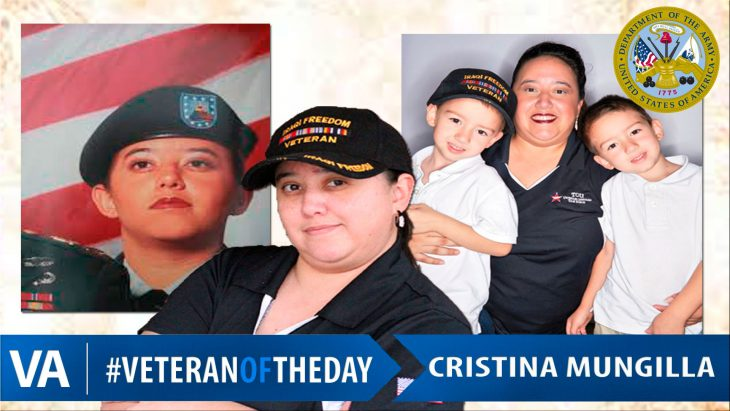 Cristina Mungilla - Veteran of the Day