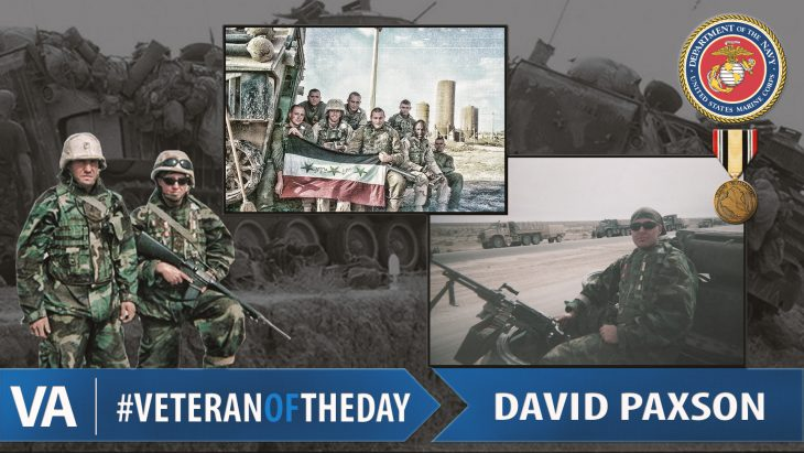 David Paxson - Veteran of the Day