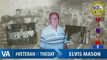 Elvis Mason - Veteran of the Day