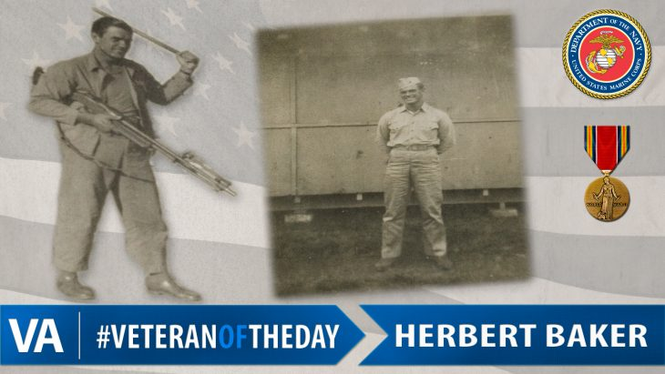 Herbert Baker - Veteran of the Day