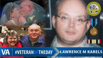 Lawrence Karels - Veteran of the Day