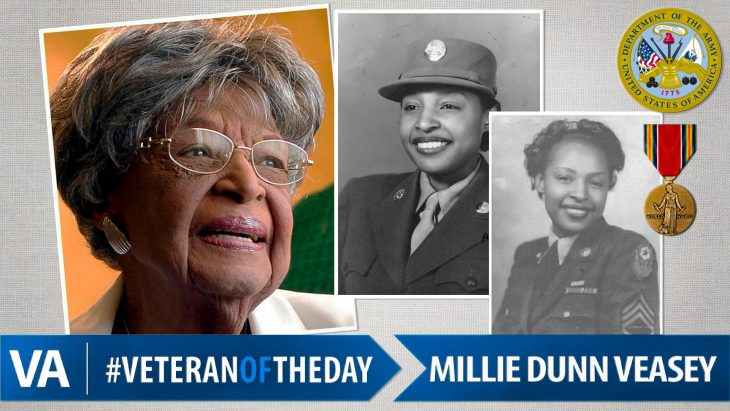 Millie Dunn Veasey - Veteran of the Day