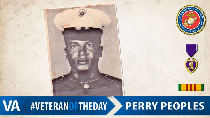 Perry Peoples - Veteran of the Day
