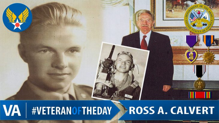 Ross Calvert - Veteran of the Day