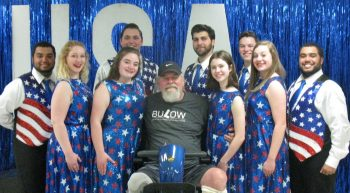 Stan Webb, US Veteran, Professional songwriter Re-Creation traveling dance and song team