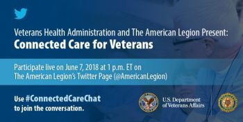 IMAGE: Connected Care Twitter Chat graphic