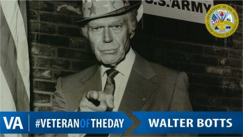 Walter Botts - Veteran of the Day