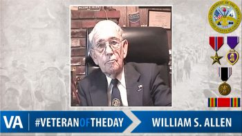 William Allen - Veteran of the Day