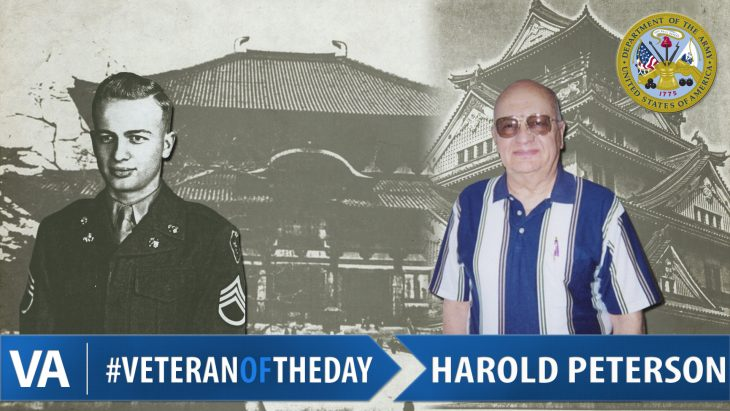 Harold Peterson - Veteran of the Day