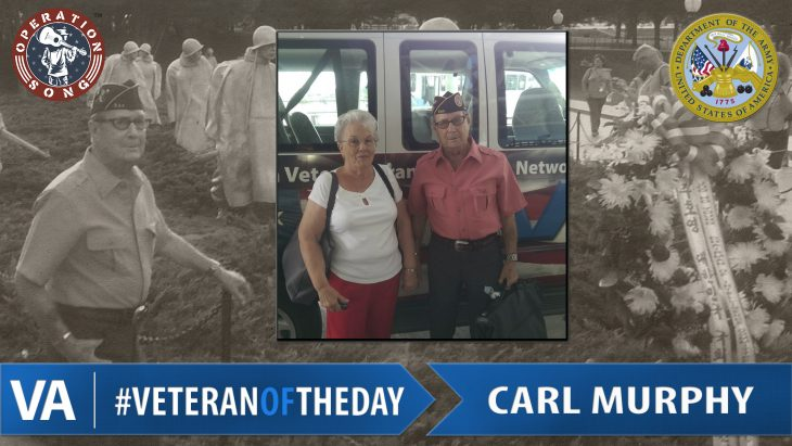 Carl Murphy - Veteran of the Day