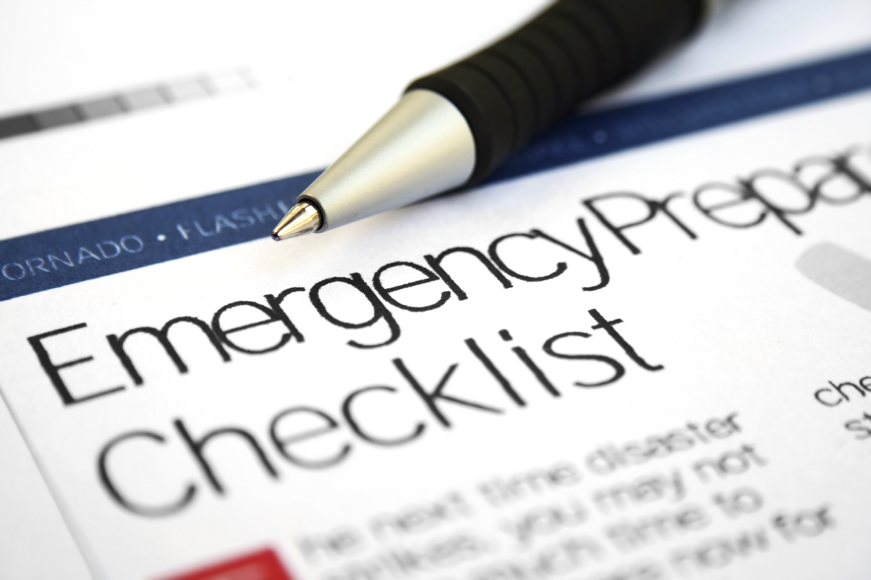 Emergency Prep Checklist
