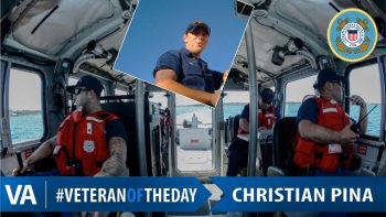 Christian Pina - Veteran of the Day