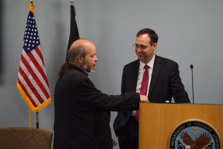 VA's Acting Secretary Peter O'Rourke spent Tuesday in New Hampshire meeting with state lawmakers and leadership at the Manchester VA Medical Center.