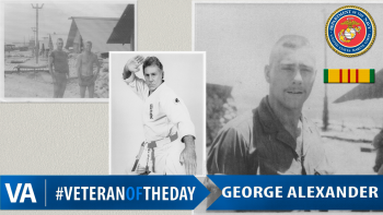 George Alexander - Veteran of the Day