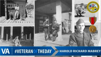 Harold Mabrey - Veteran of the Day