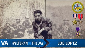 Joe Lopez - Veteran of the Day