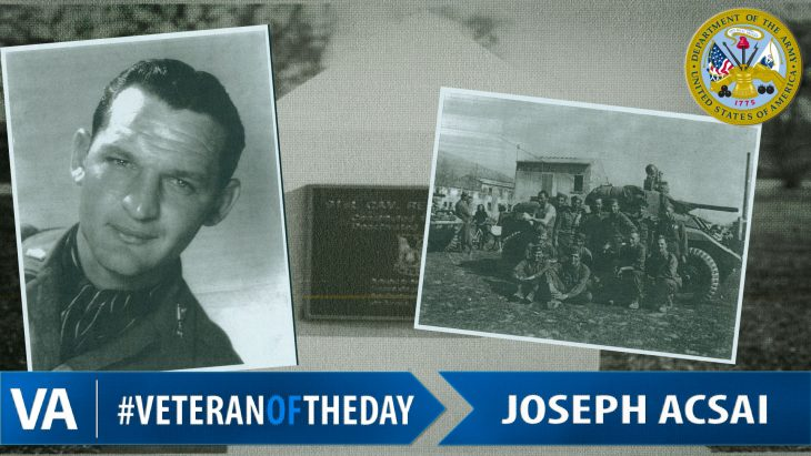 Joseph Acsai - Veteran of the Day