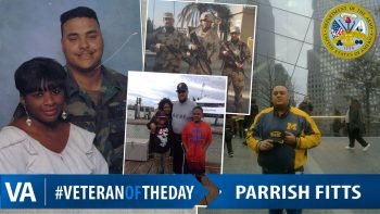 Parrish Andre Fitts - Veteran of the Day