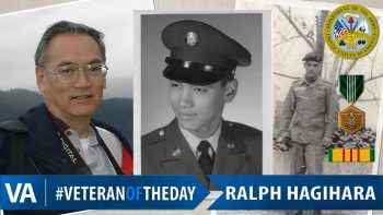 Ralph Hagihara - Veteran of the Day