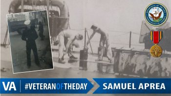 Samuel Aprea - Veteran of the Day