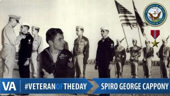 Spiro George Cappony - Veteran of the Day
