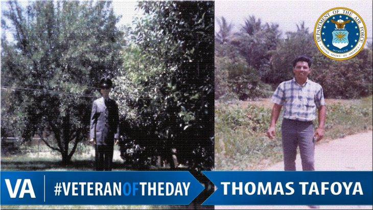 Thomas Tafoya - Veteran of the Day