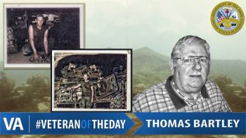 Thomas Bartley - Veteran of the Day