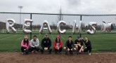 VA VSOC and Ohio State community posing for photo at 5k run/walk