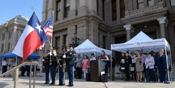IMAGE: Texas commemorated the 70th anniversary of the Women's Armed Services Integration Act by declaring June 12, 2018 the first annual Women Veterans Day.