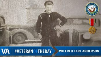 Wilfred Anderson - Veteran of the Day