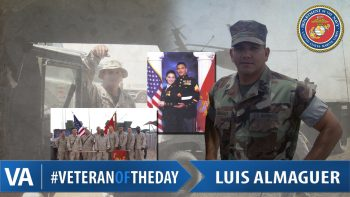 Luis Almaguer - Veteran of the Day