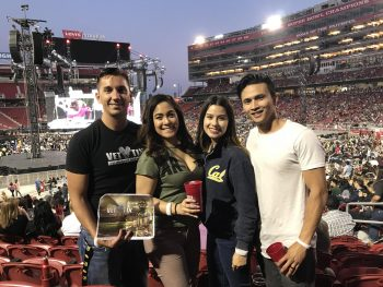 Veterans at Taylor Swift Concert