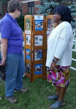 IMAGE: Acting Chief of Staff speaks with a Veteran