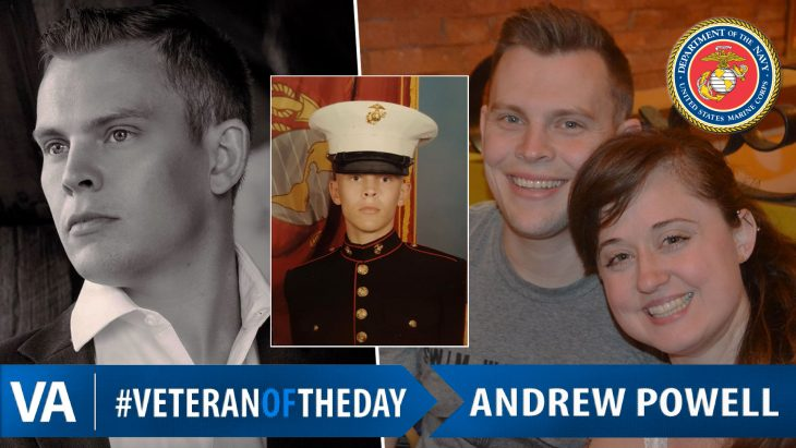 Andrew Powell - Veteran of the Day